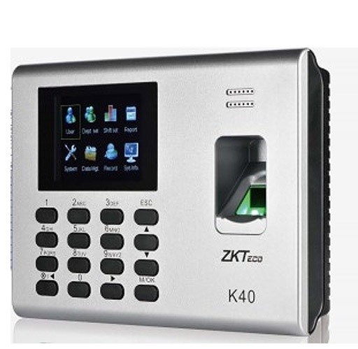Pointeuse K40 Zksoftware